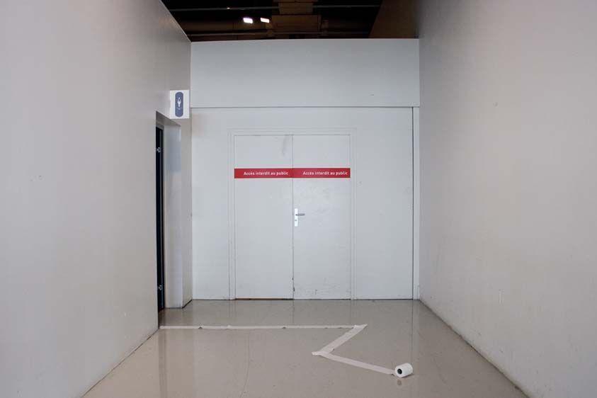 Playing I, Paper, Center Geoge Pompidou, 2007.