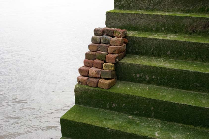 Replica III, Stair, Thames River, 2007.