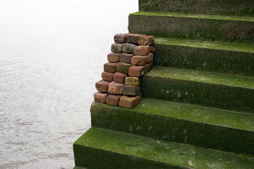 Replica III, Stair, Thames River, 2007.