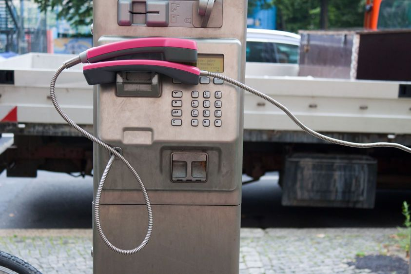 interconnection, Telephones, Berlin, 2011.