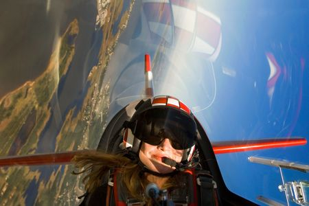 Nancy Lynn aerobatic pilot