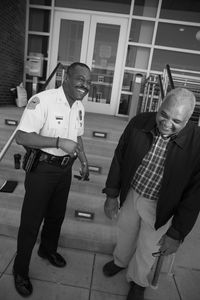 POLICE CHIEF AND CHAPLAIN-FERGUSON, MISSOURI