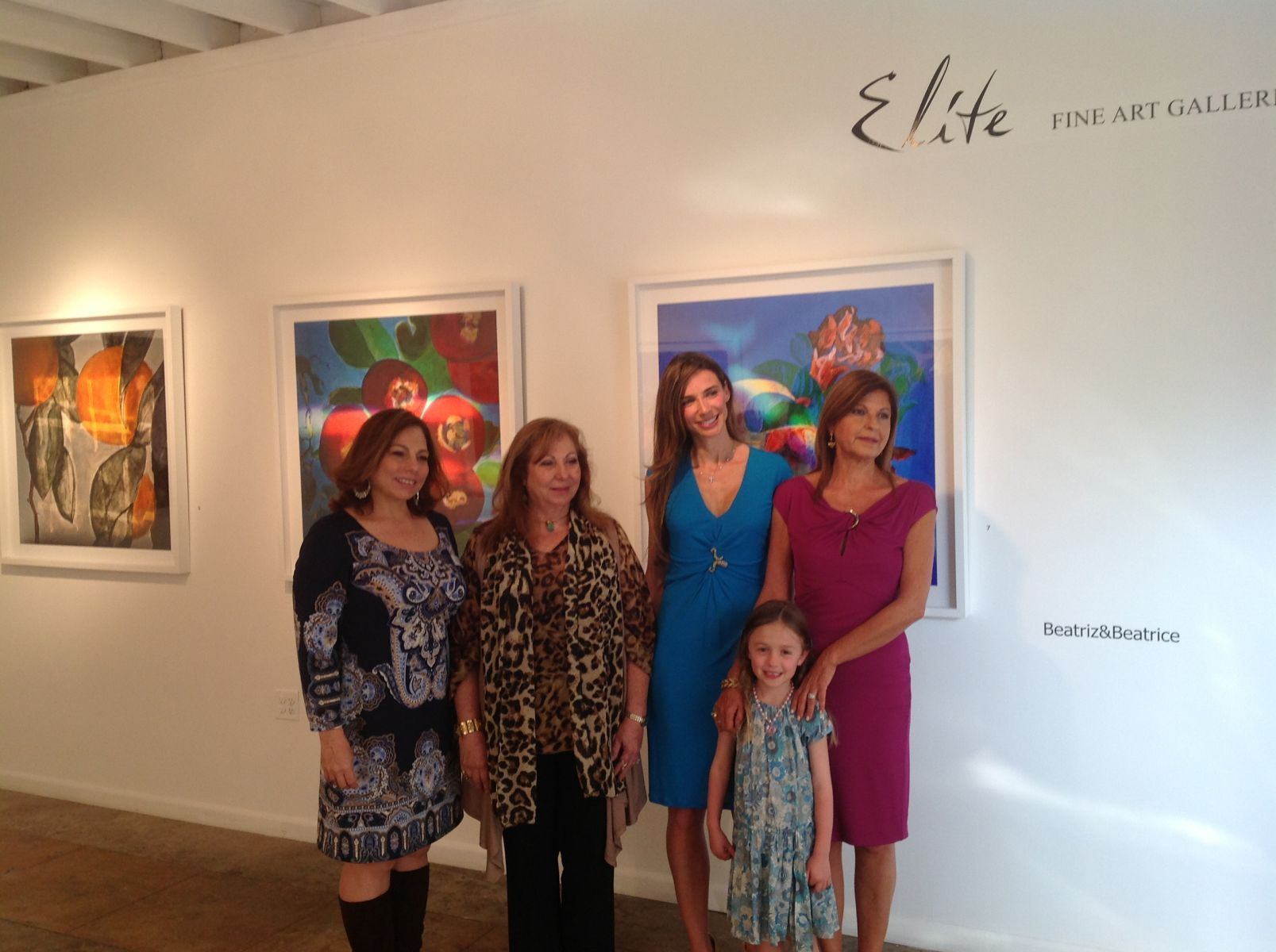 "Elite Fine Arts Galleries, Miami, FL, ""Time Lapses of Light"", April 1 - May 1, 2013"