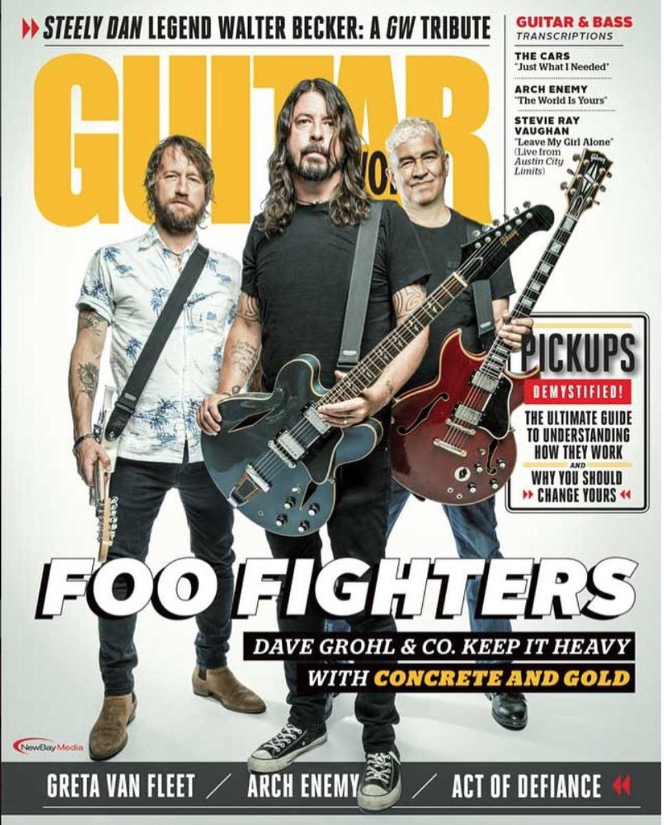 Foo Fighters / Guitar World Magazine