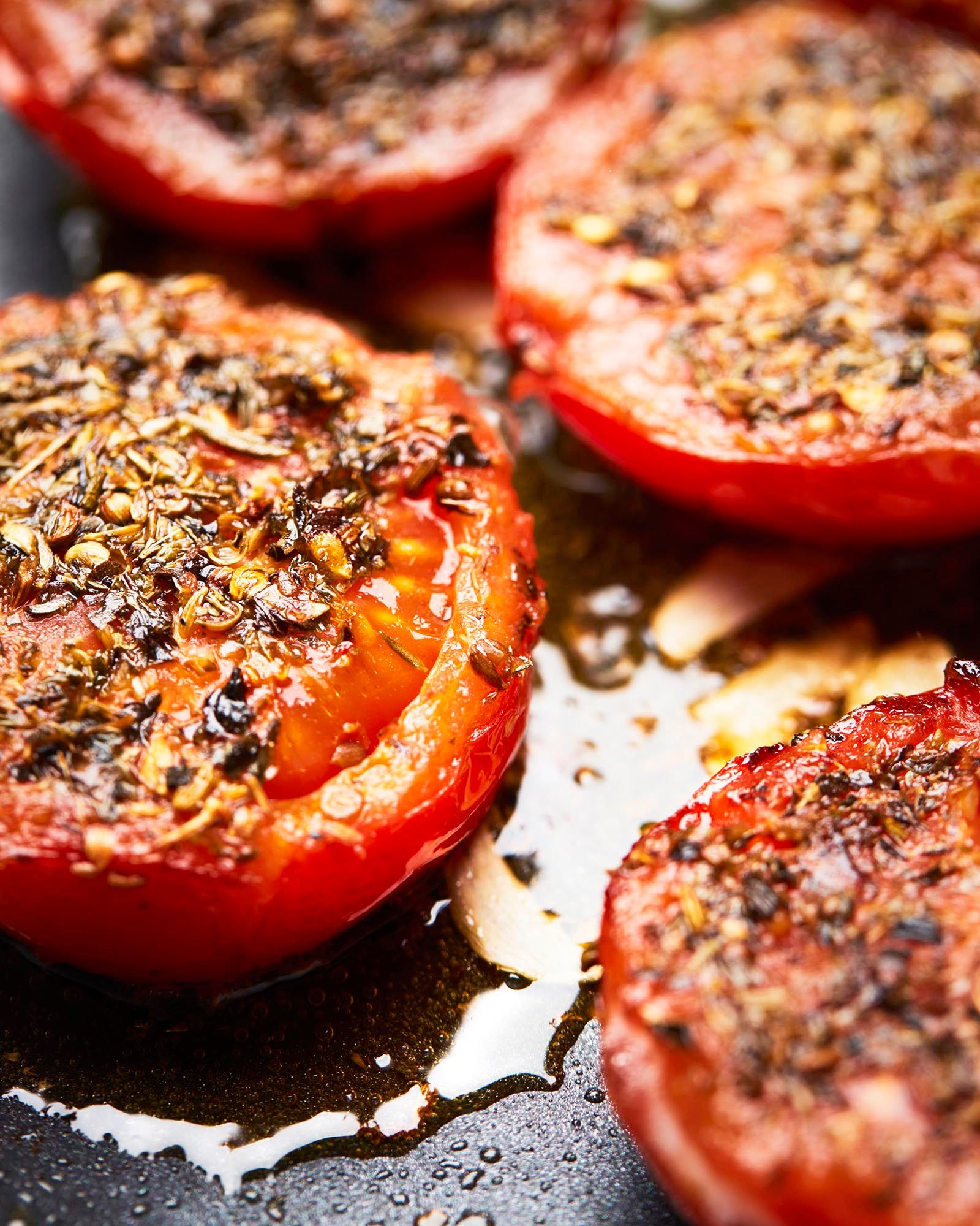 Herbes de Provence-Crusted Tomatoes