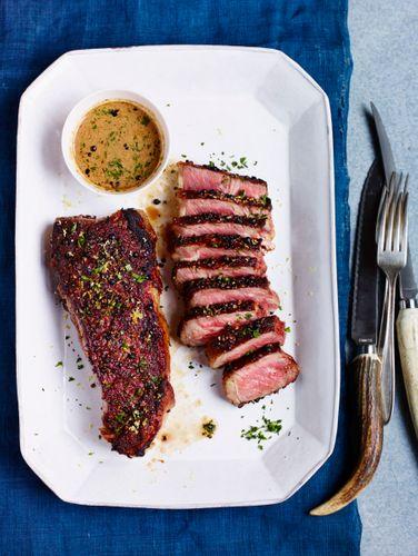 Steak Au Poivre Beauty A131014 Food & Wine Making My Mistakes Cookbook 2013