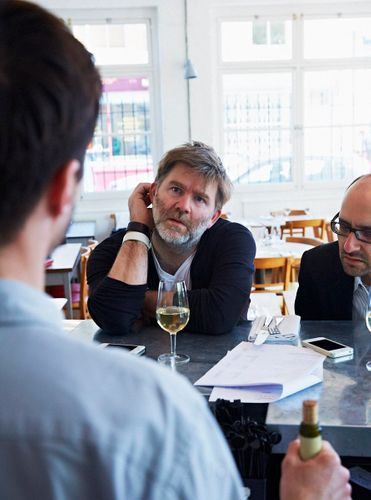 James Murphy, Brawn, London. John Kernick