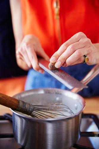 Mario Batali & Dana Cowin Preparing Baked Pasta A131014 Food & Wine Making My Mistakes Cookbook 2013