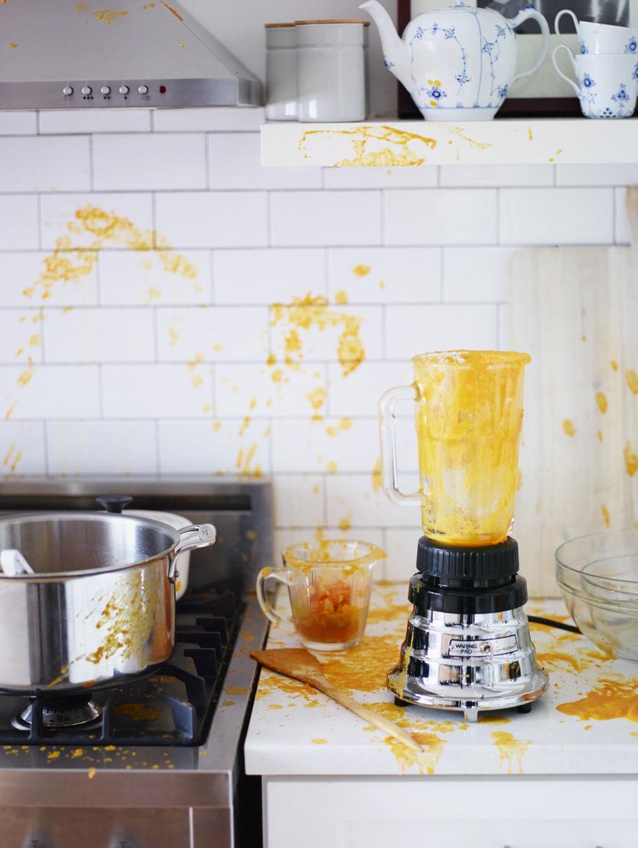 Alex Guarnaschelli & Dana Cowin Preparing Steak Au Poivre A131014 Food & Wine Making My Mistakes Cookbook 2013