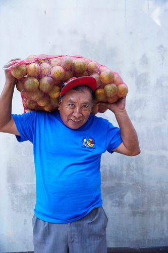 Orange Man Portrait   Williams-Sonoma Open Kitchen   Hartwood RestaurantTulum Mexico 2016