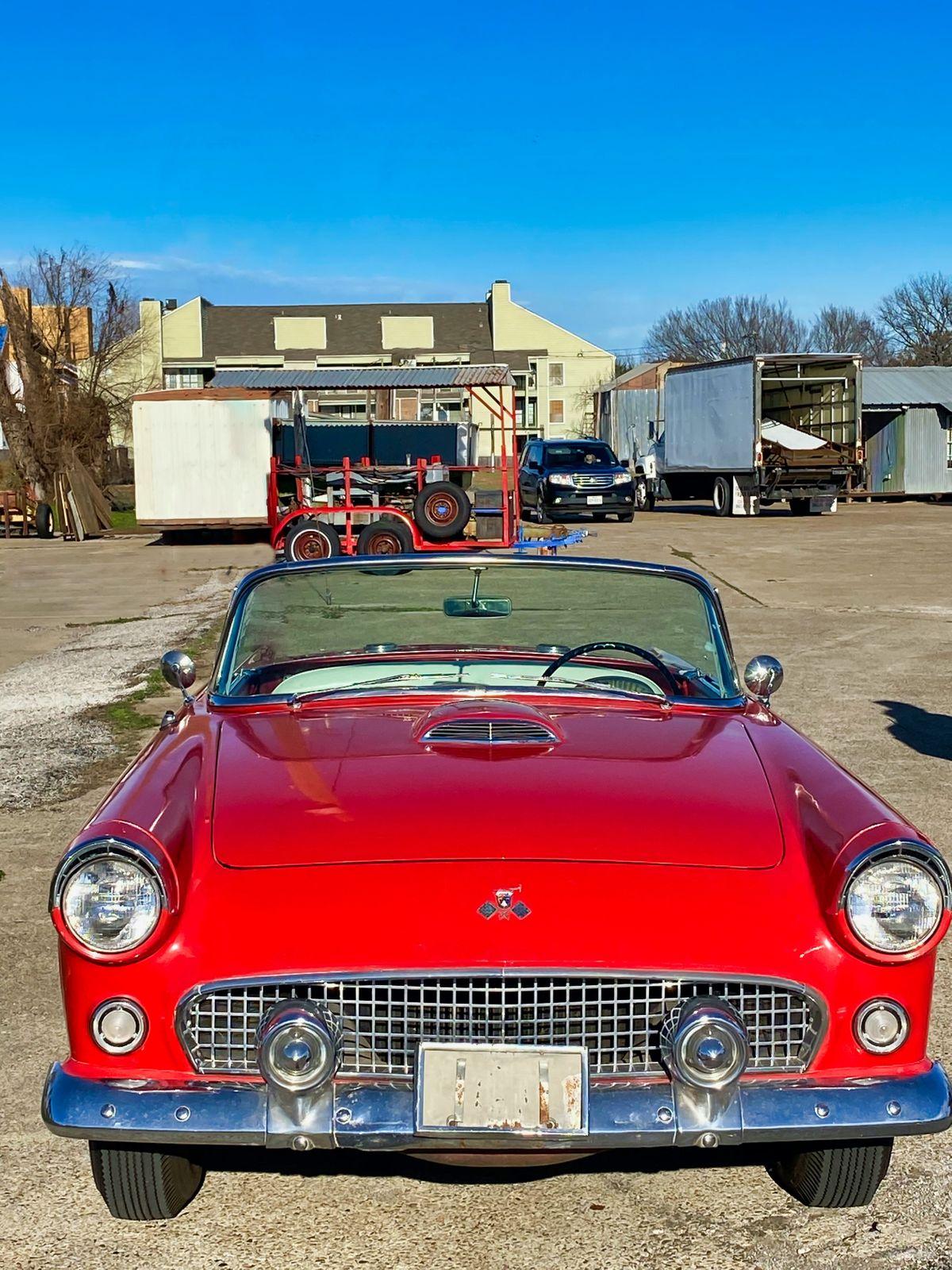 55 Ford Thunderbird Photo Video Shoot Prop Car Vehicle Rental Dallas 01.jpeg