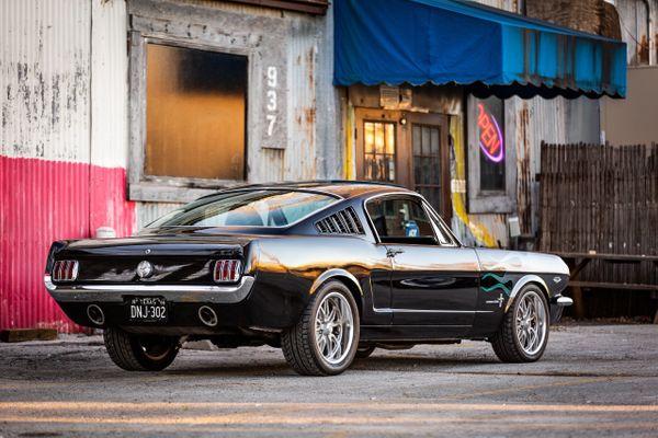 1966 Mustang Fastback Restomod  Car Photo Video Prop Car Vehicle Rental Dallas 0000.jpg
