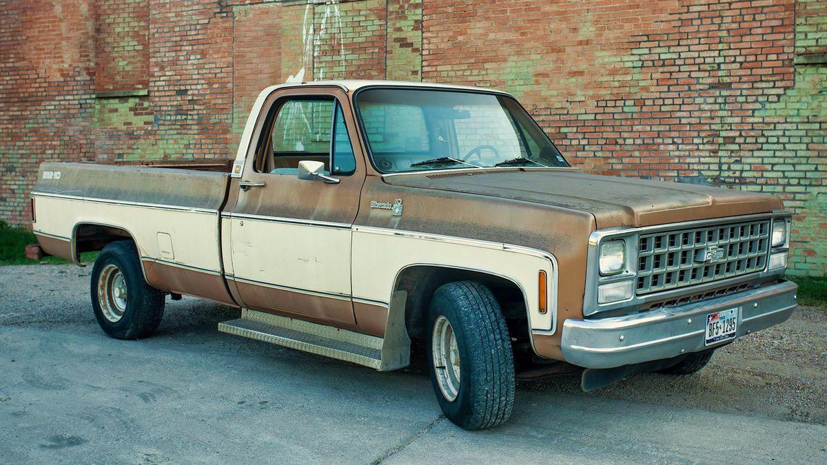 Chevy Silverado Big 10 Truck Photo Video Shot Prop Rental Vehicle