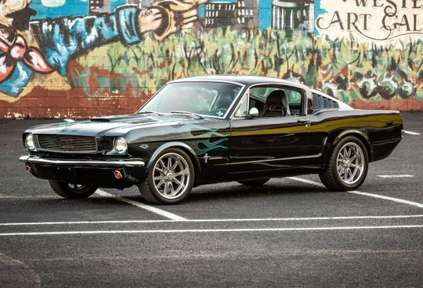 1966 Mustang Fastback Restomod  Car Photo Video Prop Car Vehicle Rental Dallas 0001.jpg