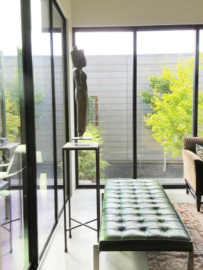 Stone-Clad Contemporary Modern