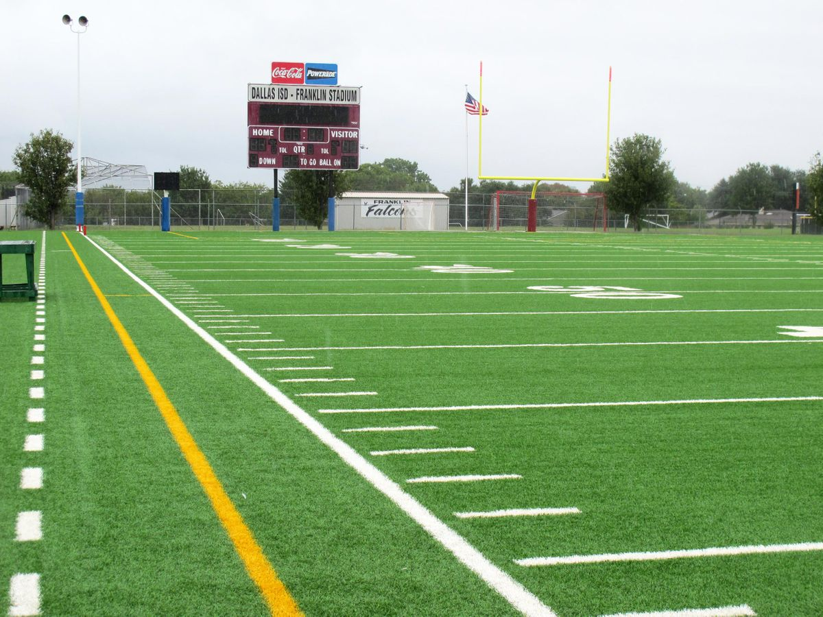 Hillcrest Football Field Photo Video Shoot Location