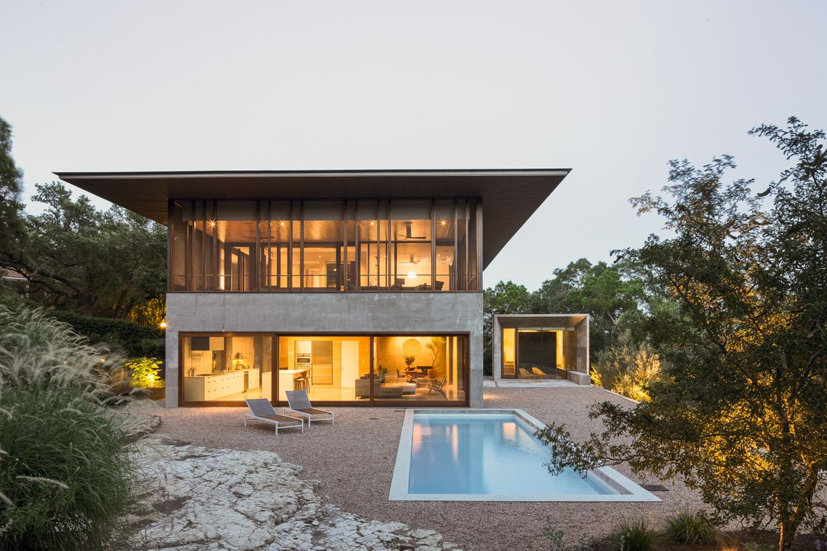 Casa Manzana Contemporary Modern Home Photo Video Shoot Location Austin TX