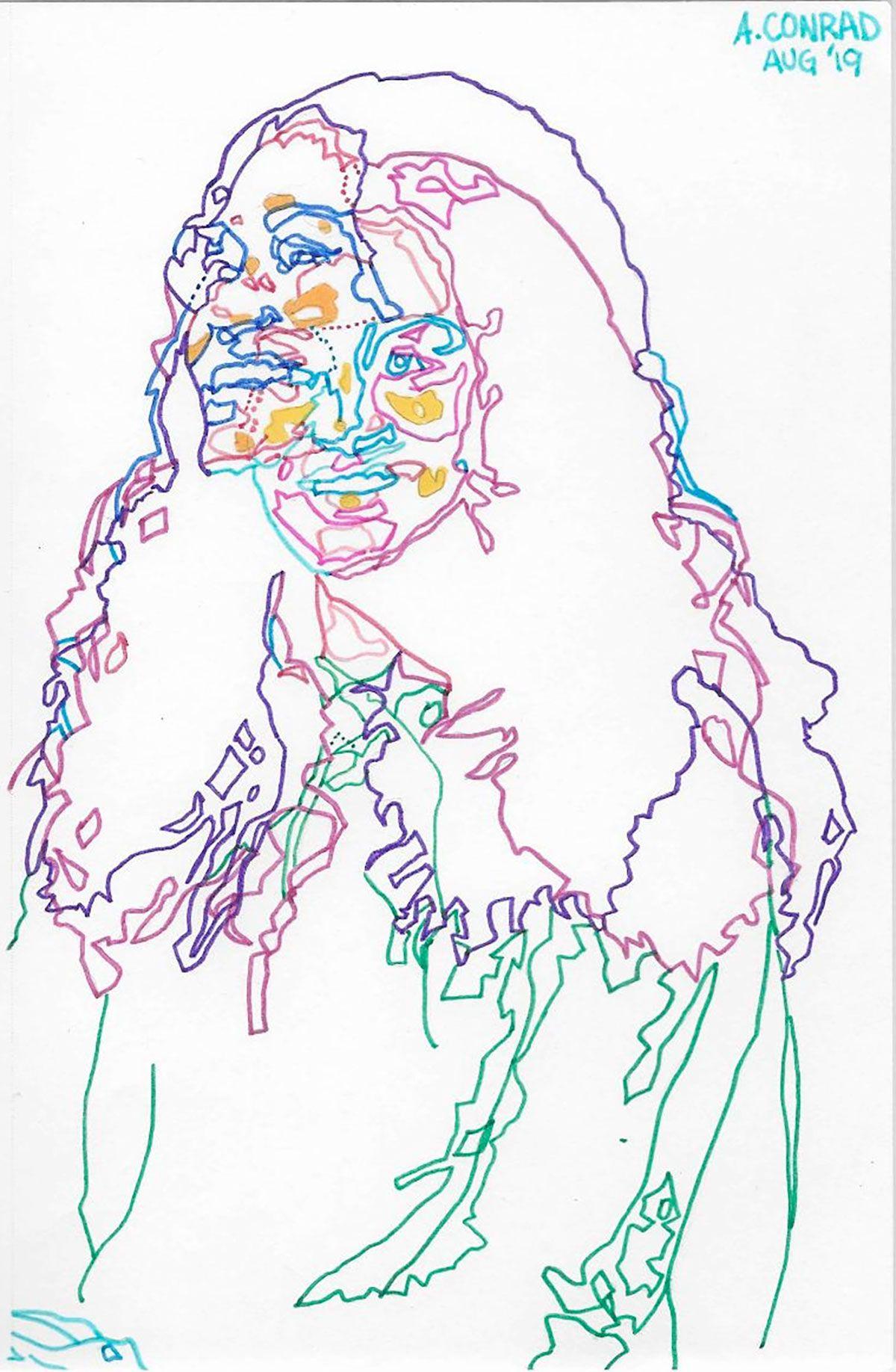 Marker on Paper - Columbus Ohio Illustrator and Artist