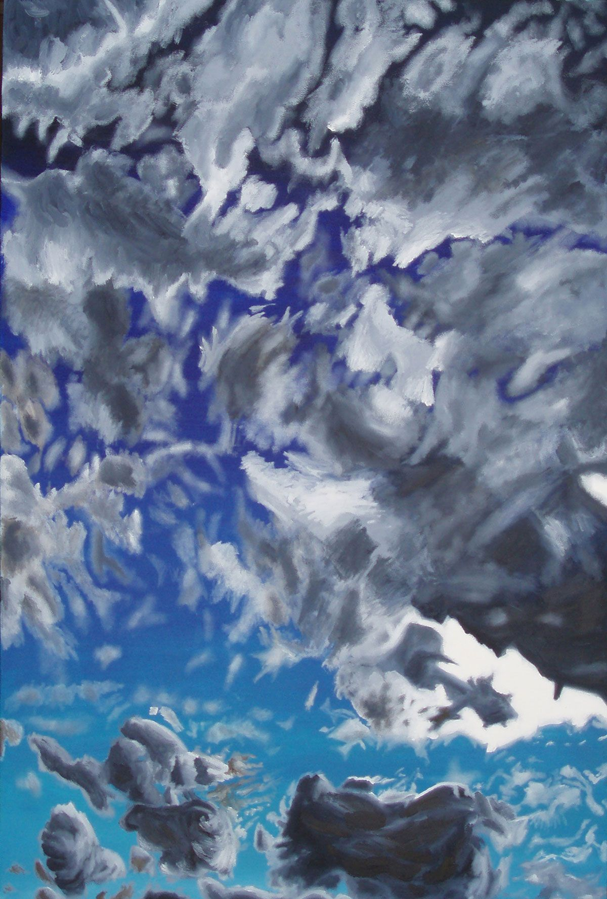 Clouds Overhead - Oil on Canvas - Ohio Artist