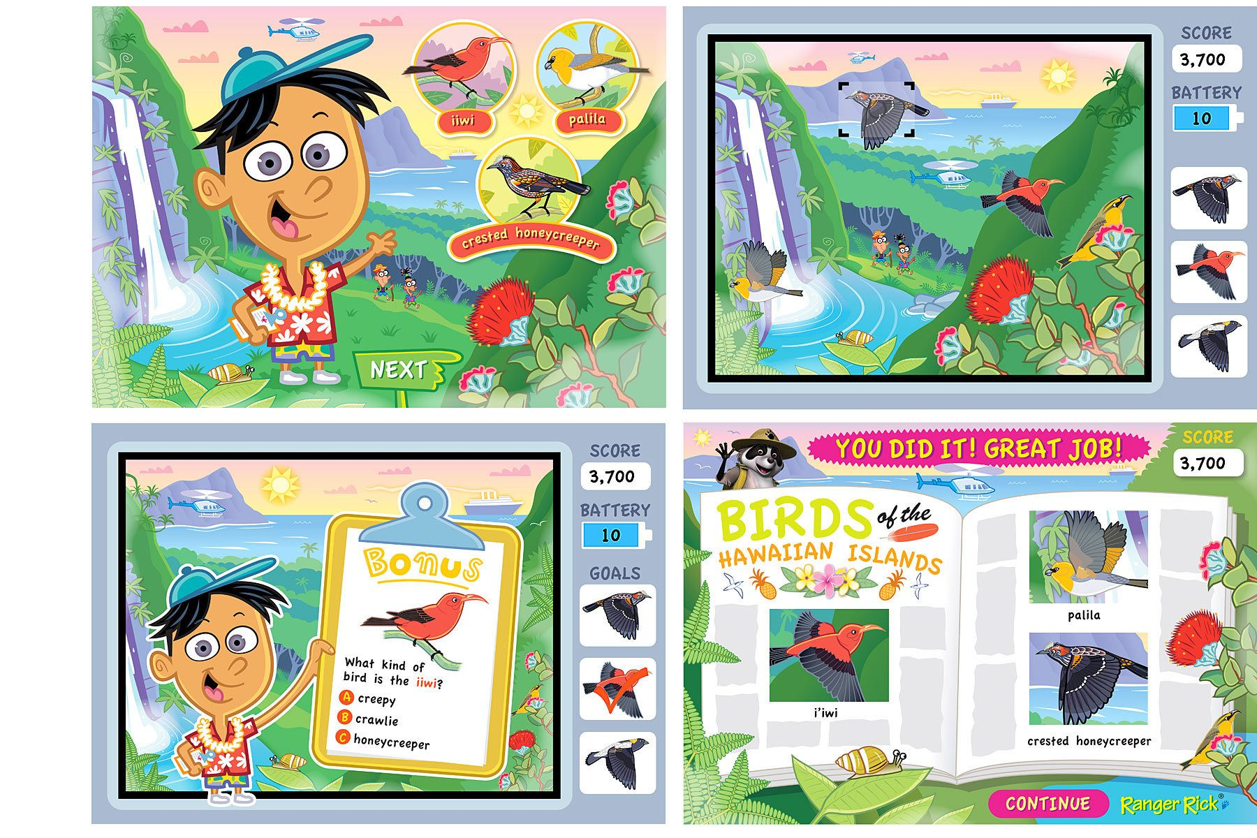 Click the Birdie - Hawaiian Islands Habitat