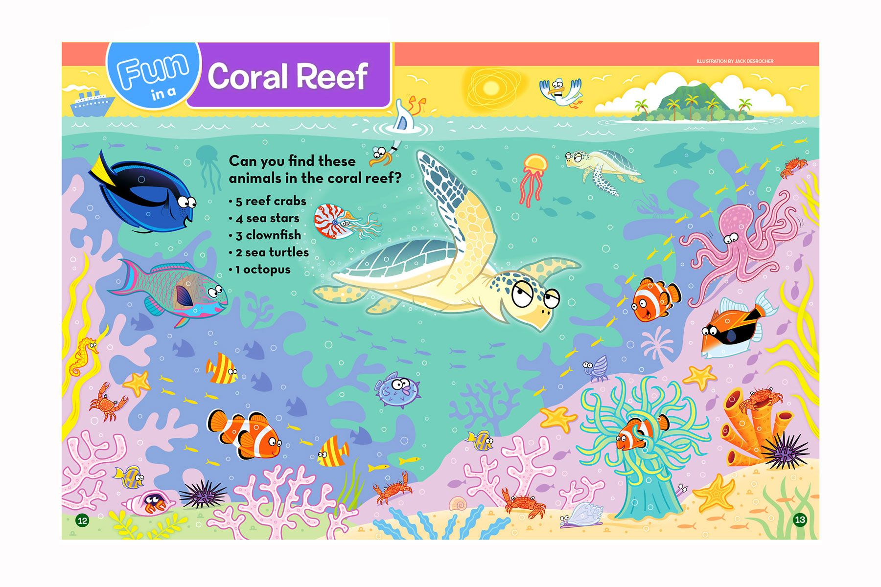 Fun in a Coral Reef