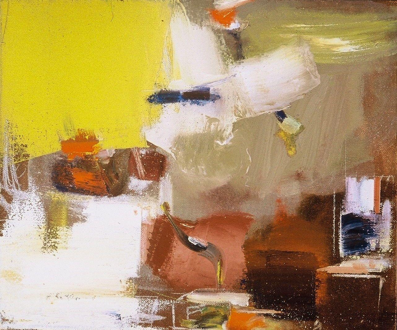 "PAESAGGIO ROMANO   2003 29 x 24"" , oc"