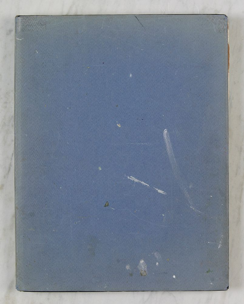 "BLU DUST JACKET BANGOR 1983 / PORTLAND 1985-6 SKETCHBOOK page size  = 13.75 x 10.5"""