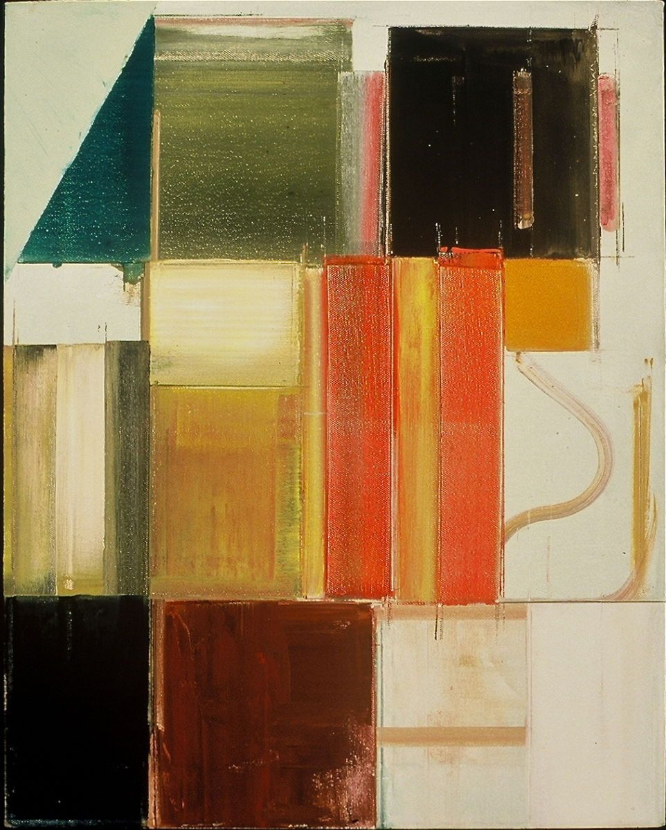 "SECTIONAL VIEW   1981    Middletown CT 20 x 16"" , oil on canvas"