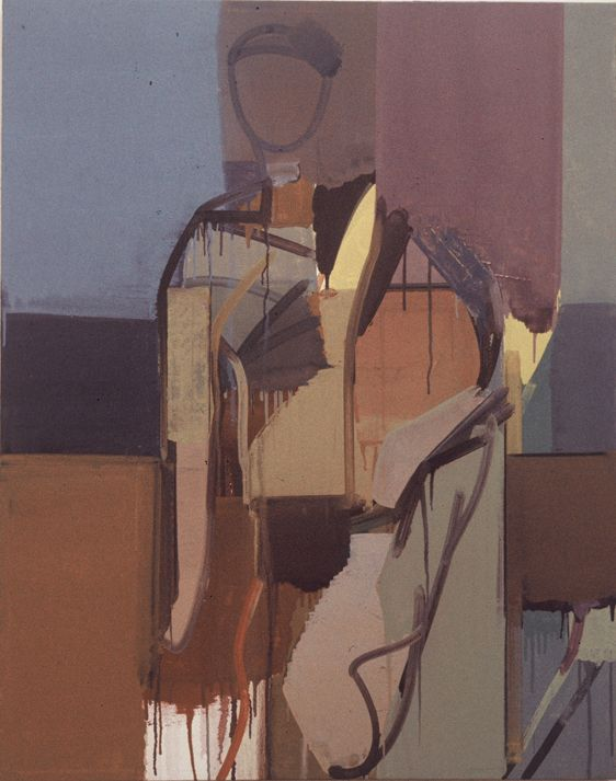 COMPOSITION w FEMALE FIGURE   1974 Berkeley