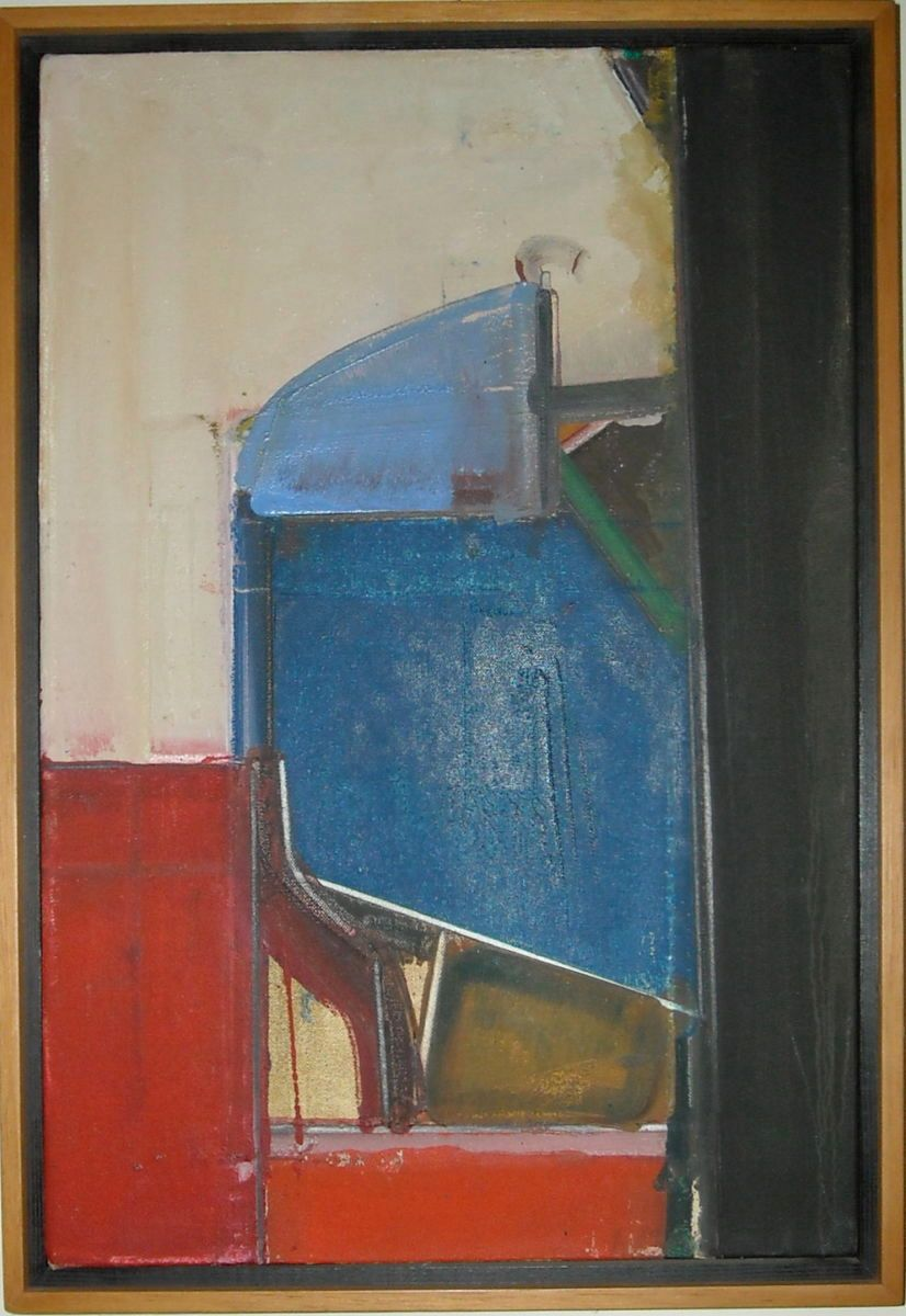 "UNTITLED    1976    Berkeley 18 x 12""     , oll on canvas"