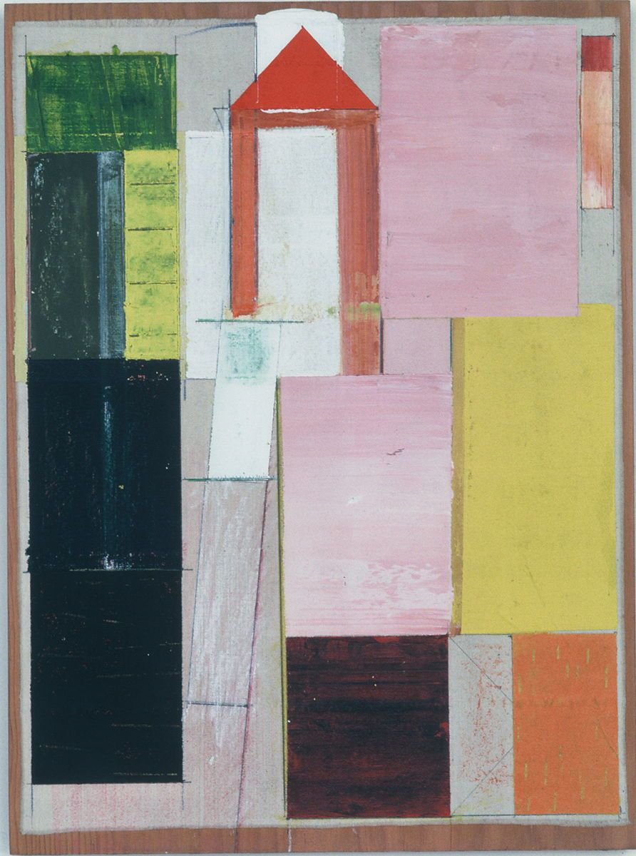 1compostion_w_shifting_stacks__1980_s_francisco___16x12___acrylic_on_muslin_affixed_to_plywd_