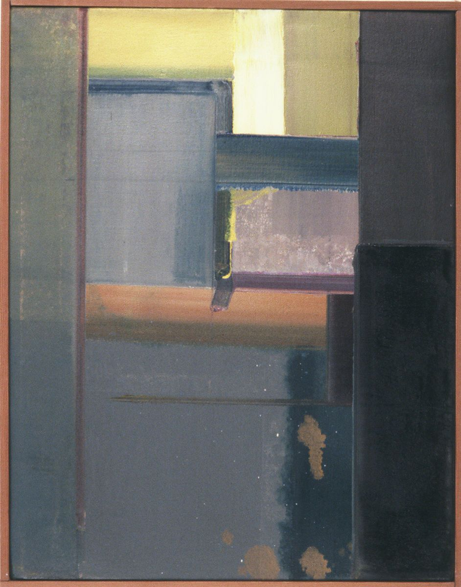 "ASIAN   REVERIE   19787 Berkeley   18 x 14""    , oil on canvas"