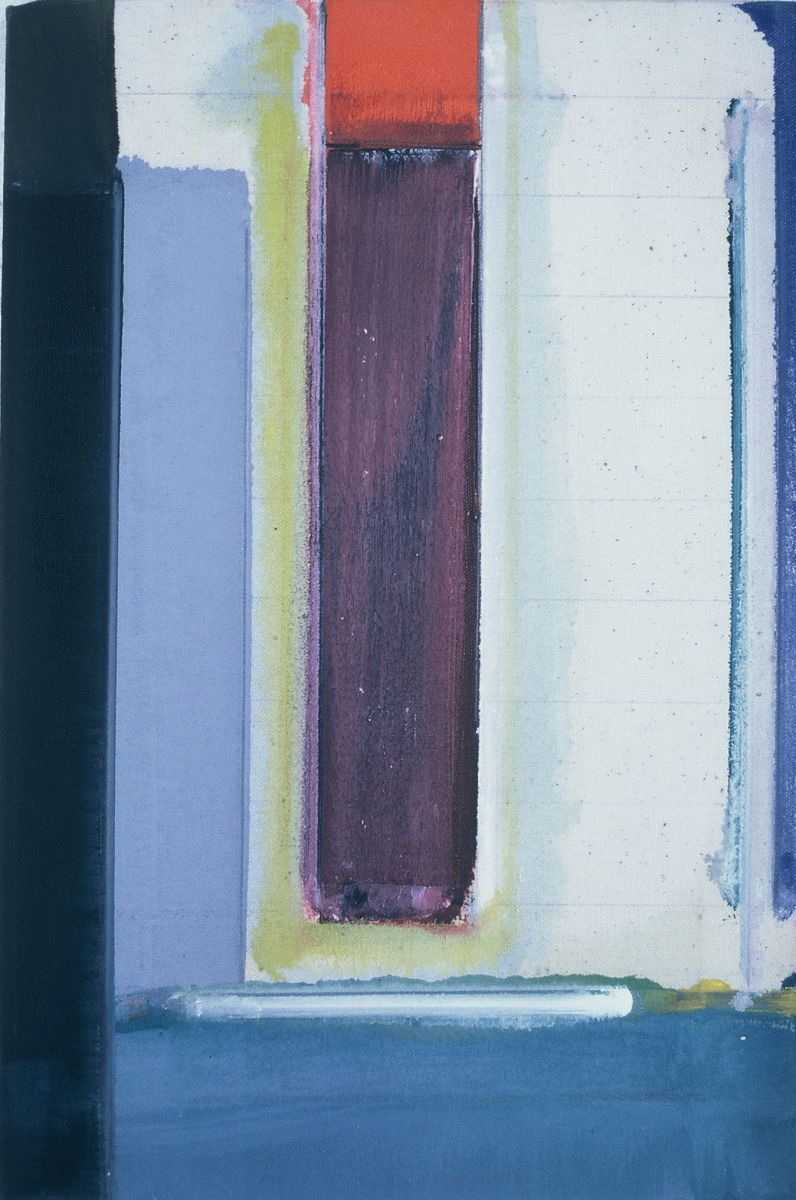 "The VOICE  1976 Berkeley   18 x 12""    , oil on canvas"