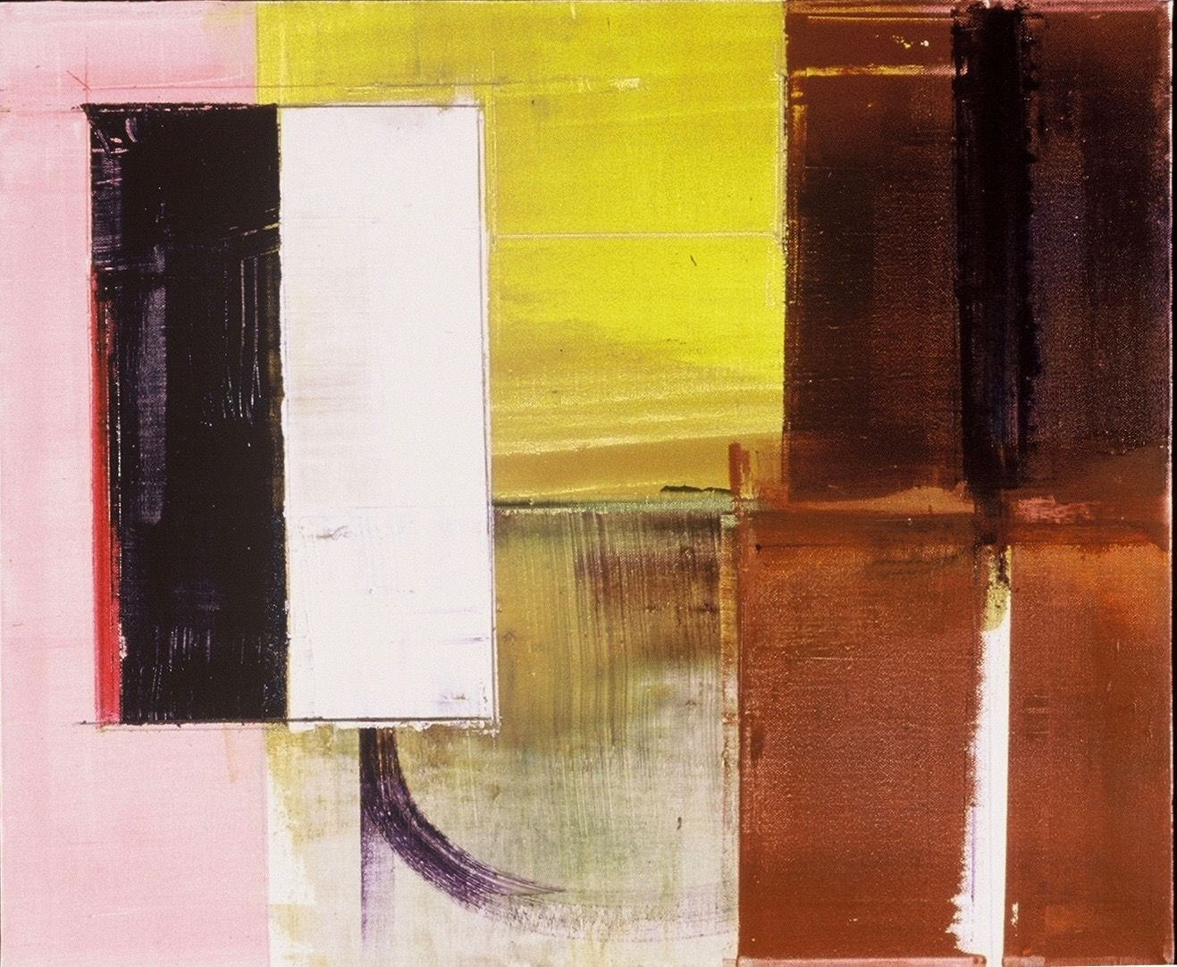 Composition  w  Yellow Sky   1989