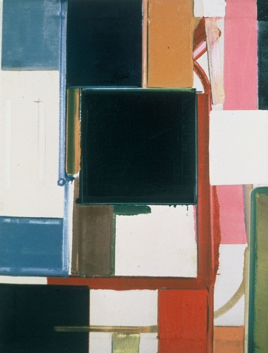"BLACK SOUP   1977  Berkeley 28 x 22"" , oc"