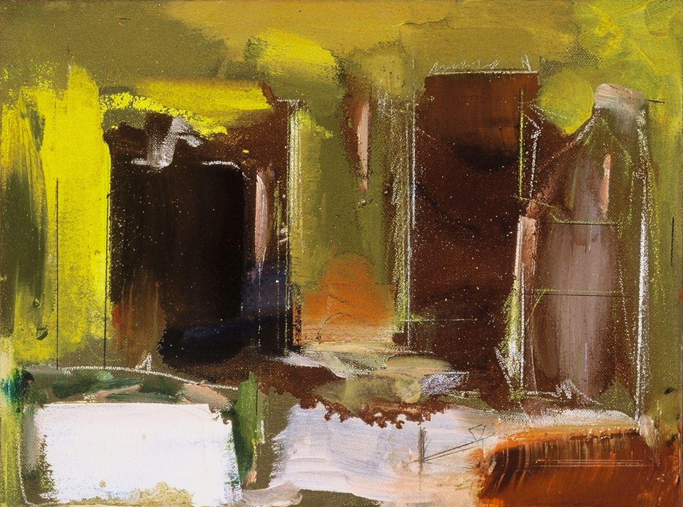 """ANTIQUE ARCADE  200312 x 16""""  , oc"""