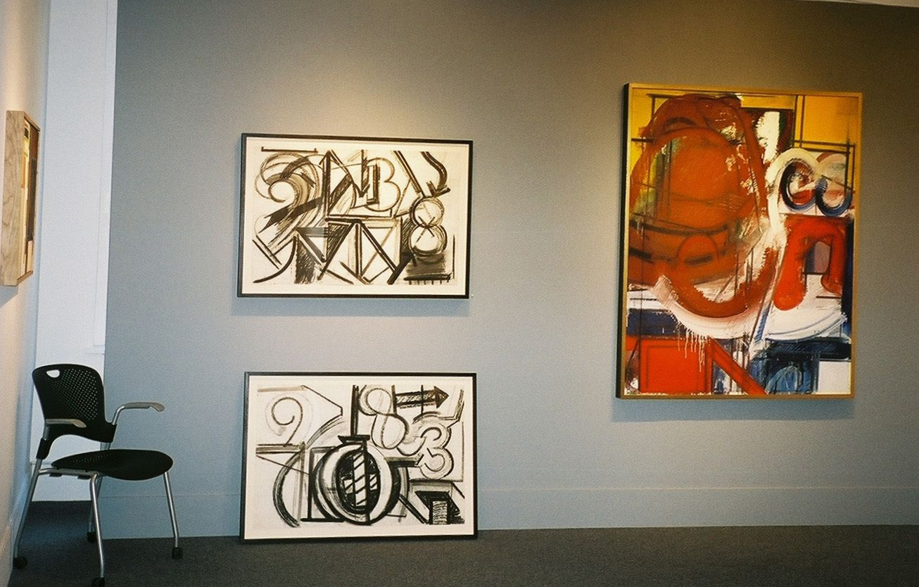 GEORGE LLOYD  : Paintings from th 70s & 80s ACME FINE ART , Boston MA January 2007