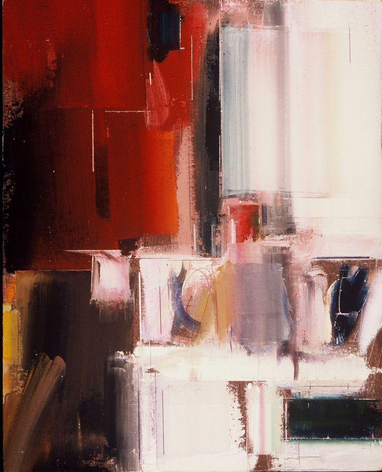 """La ROVINA   1998  20 x 16""""  , oil on panel"""