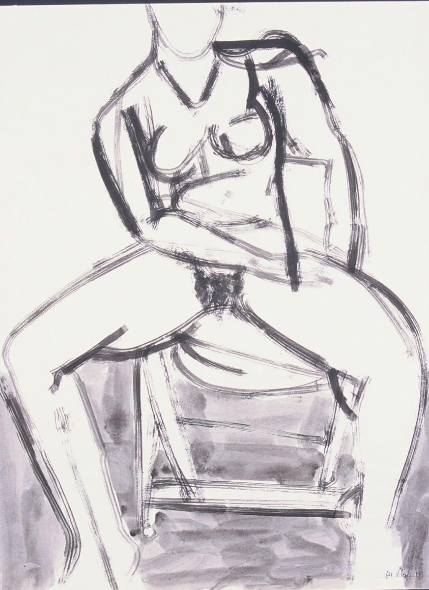 SEATED FIGURE MODEL 1973 Berkeley