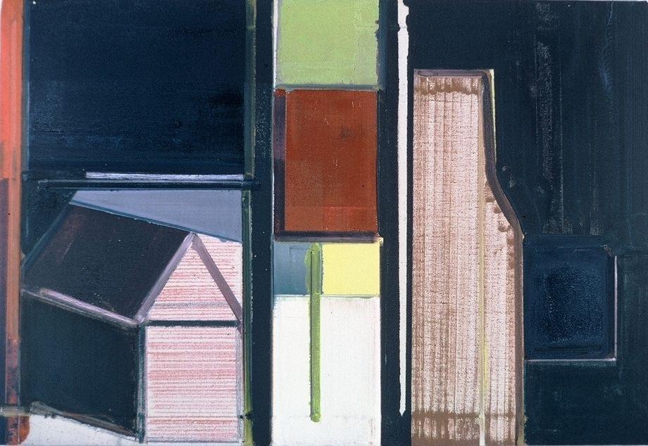 """BROWN MILK  1977 Berkeley 22 x32""""  , oc"""