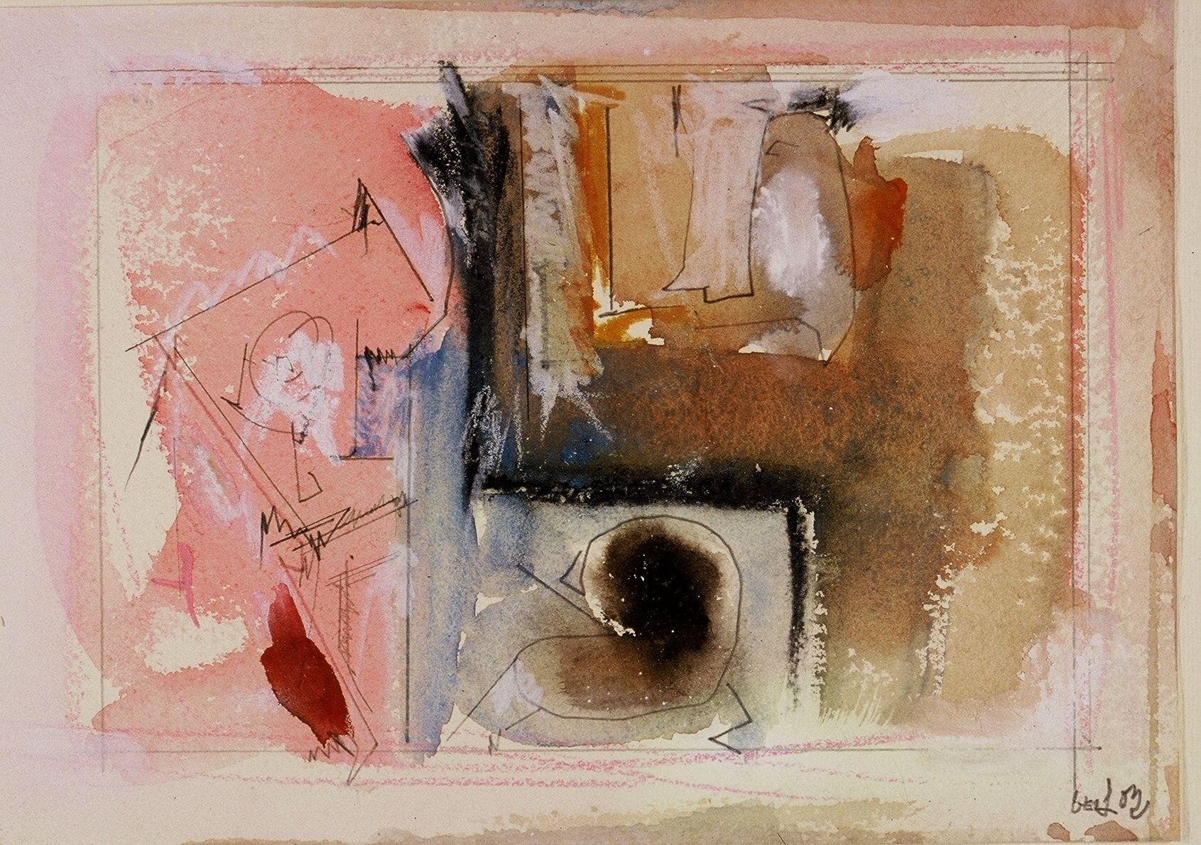 """CAPRICCIO ROMANO 2003 Portland ME 7 x 10"""" , wc"""
