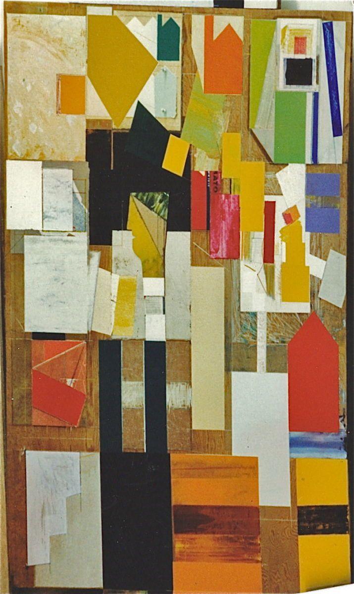 "PALLET de JO JO    1981    SanFrancisco   96 x 48""    , acrylic etc on plywood"