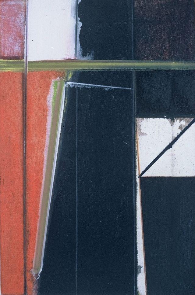 "The UNDERPASS  1976   Berkeley   18 x 12""   , oc"