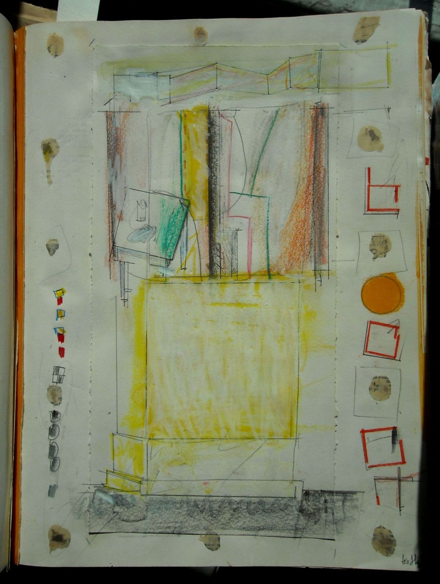 Page 11 :   Composition w PLINTH and TABLE 1983 Bangor