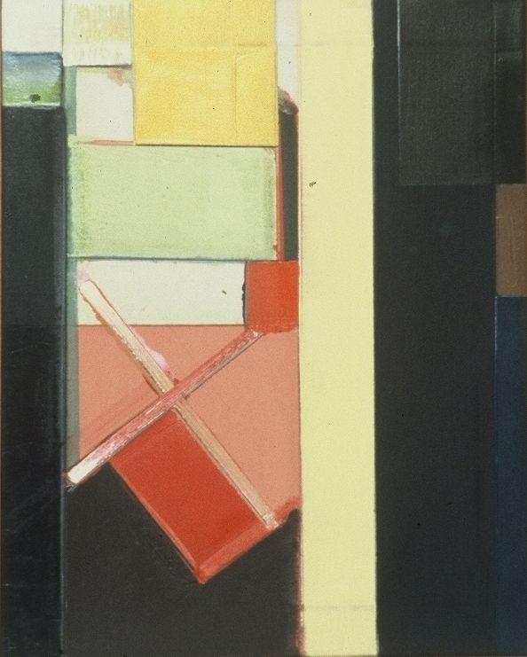 "YELLOW  DIVIDER   1977 Berkeley 20 x 16"" ,oc"