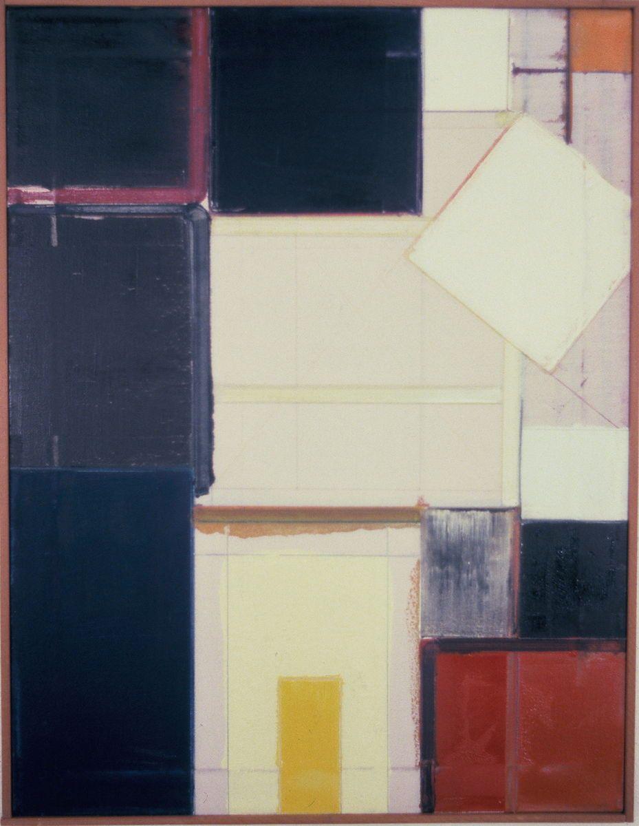 "STRAY DIAMOND       1977 Berkeley   26 x 20""  , oil on canvas"