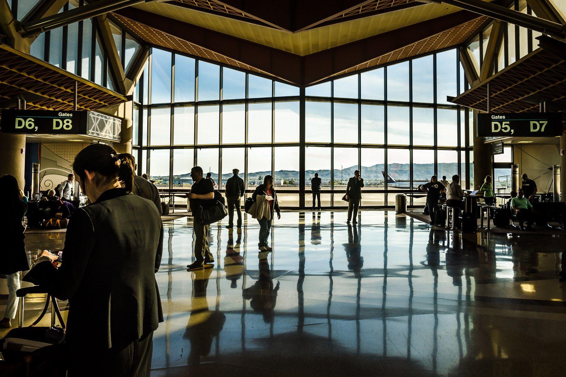 Sky Harbor airport, Phoenix, Arizona.