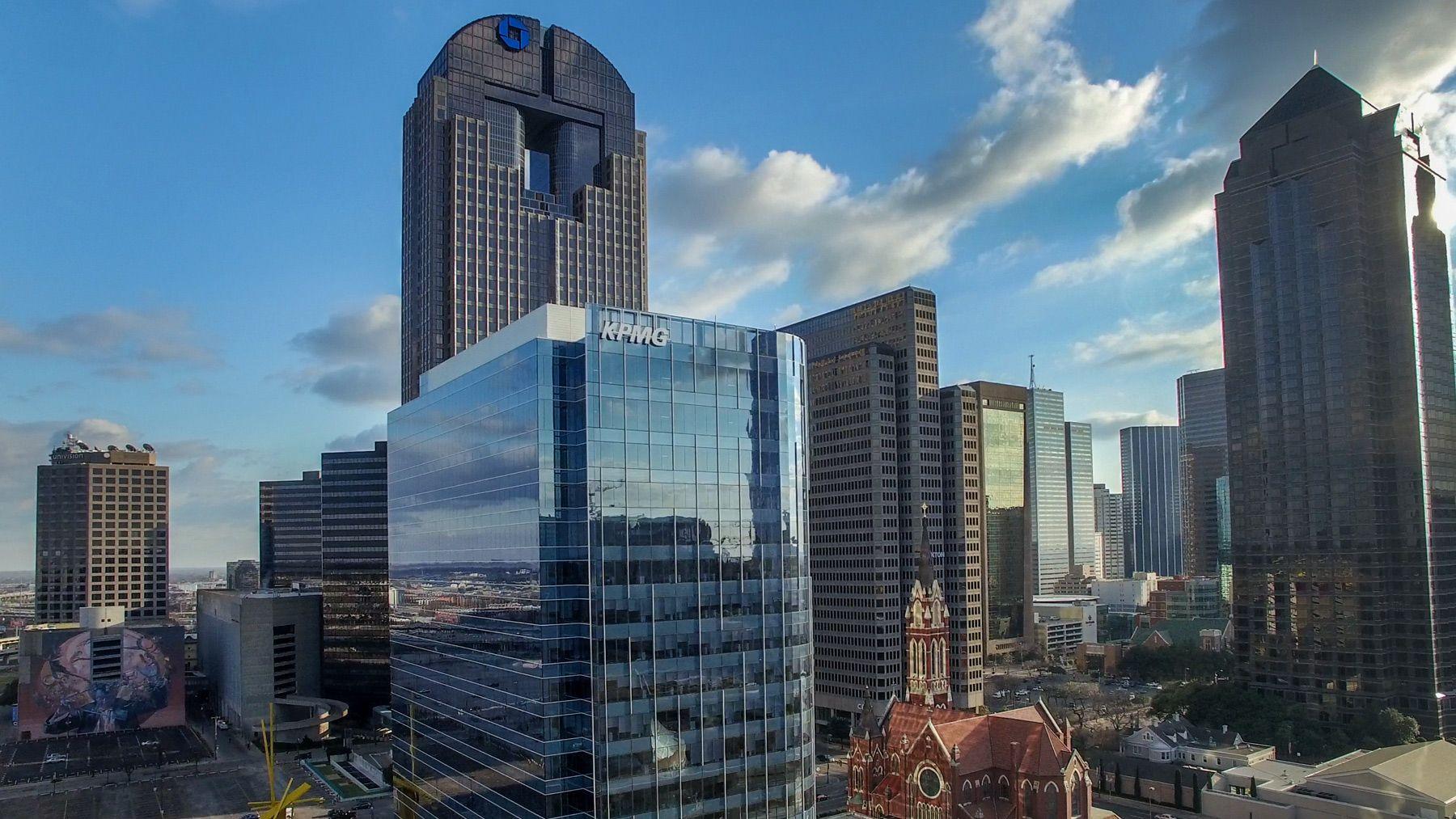 Dallas Drone aerial