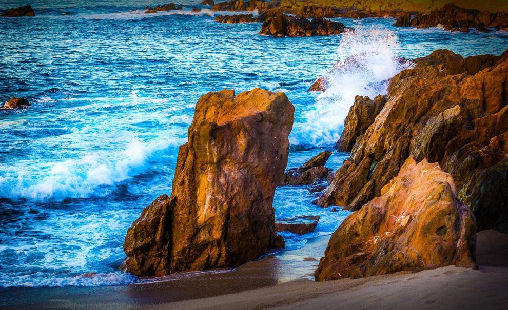 Resort photography of sea of cortez shoreline