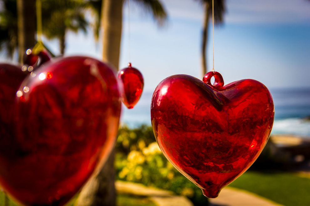 blown_glass_heart_on_tree_at_esperanza_resort